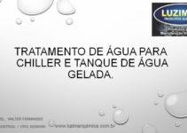 Tratamento deágua para Chiller e tanque deágua gelada
