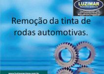 Removedor da tinta de rodas automotivas